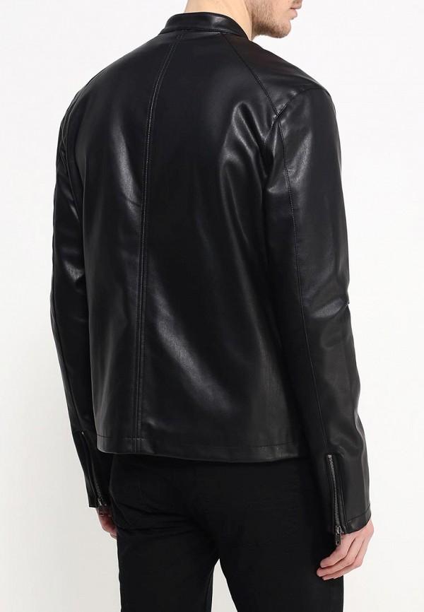 Кожаная куртка Burton Menswear London 06L07IBLK: изображение 4