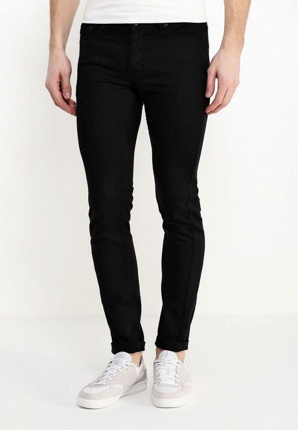 Зауженные джинсы Burton Menswear London 12S02HBLK: изображение 3