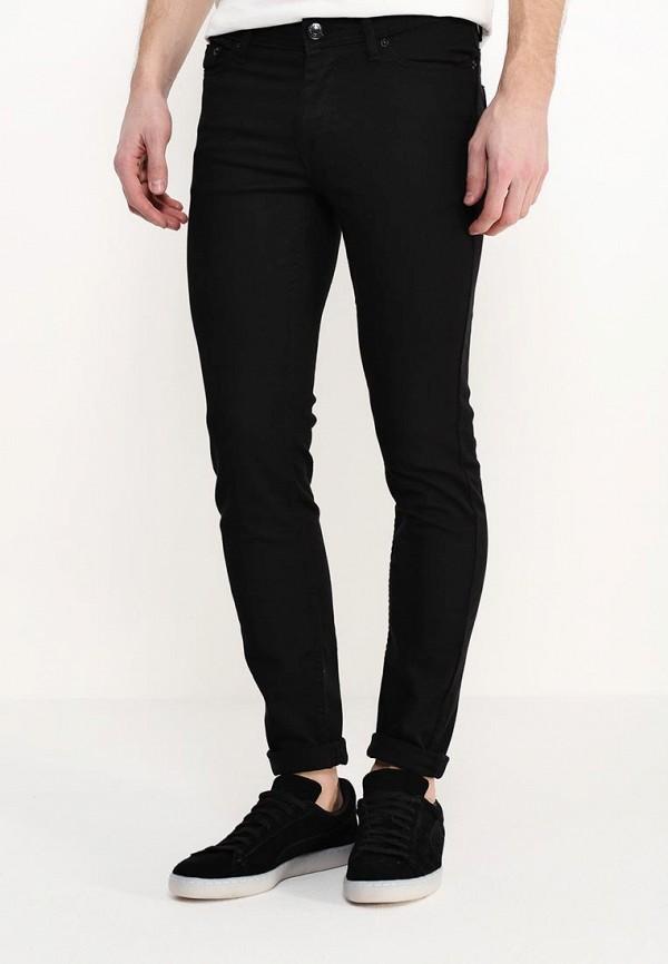 Зауженные джинсы Burton Menswear London 12S02IBLK: изображение 3