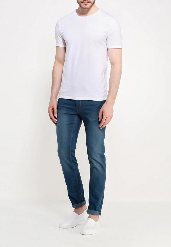 Зауженные джинсы Burton Menswear London 12S19IBLU: изображение 2