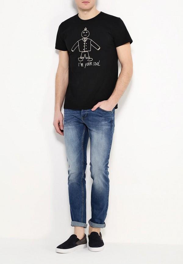 Зауженные джинсы Burton Menswear London 12A04IBLU: изображение 2