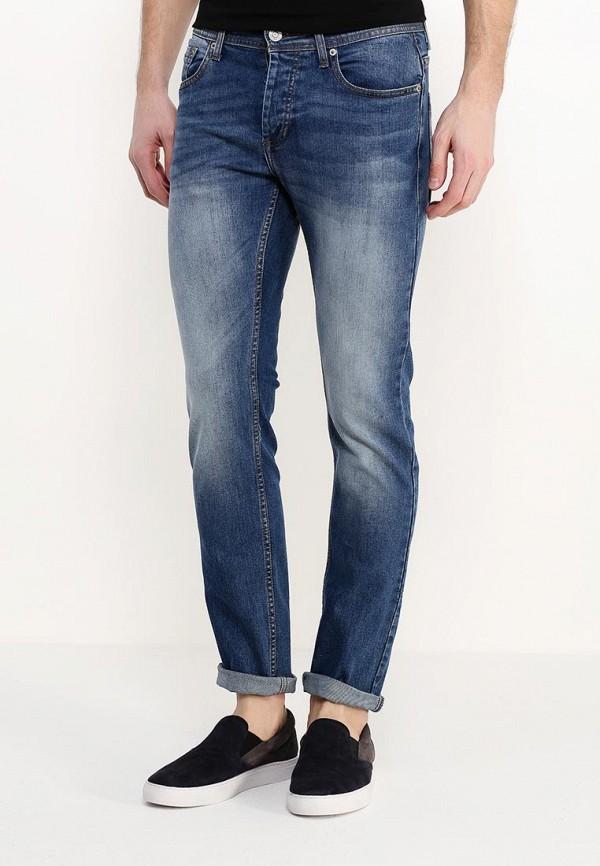 Зауженные джинсы Burton Menswear London 12A04IBLU: изображение 3