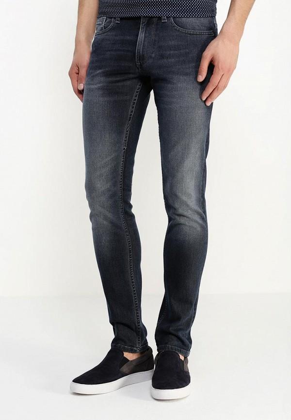 Зауженные джинсы Burton Menswear London 12A06IBLU: изображение 3