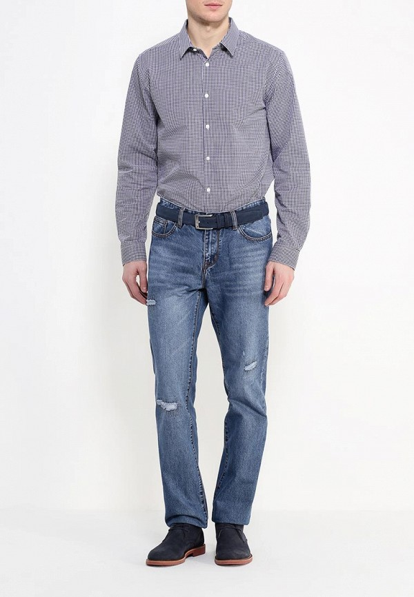 Рубашка с длинным рукавом Burton Menswear London 19S01HNVY: изображение 2