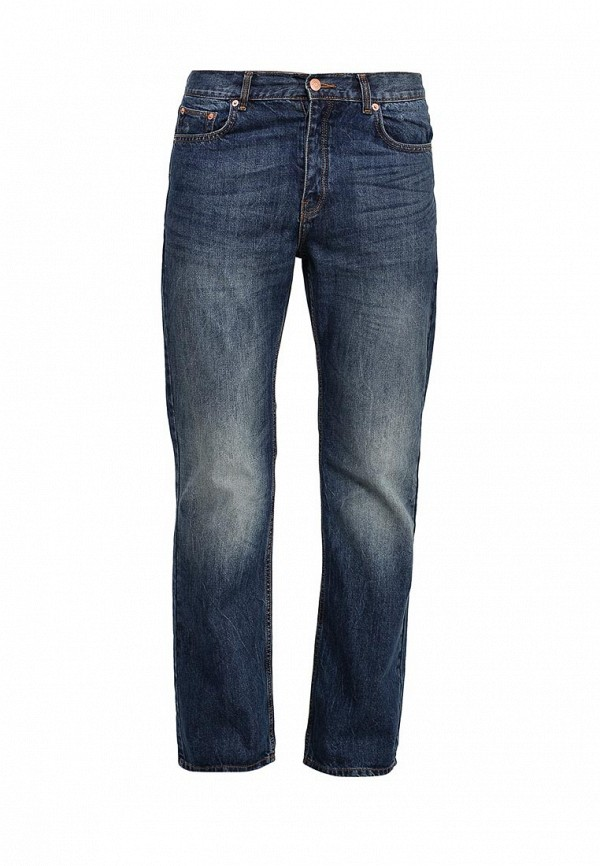 Мужские прямые джинсы Burton Menswear London 12B05IBLU: изображение 1