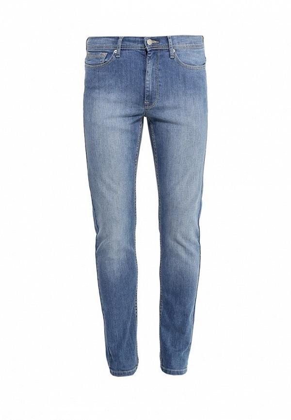 Зауженные джинсы Burton Menswear London 12S25IBLU