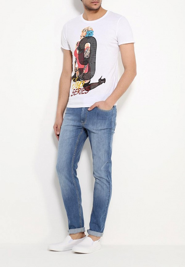 Зауженные джинсы Burton Menswear London 12S25IBLU: изображение 2