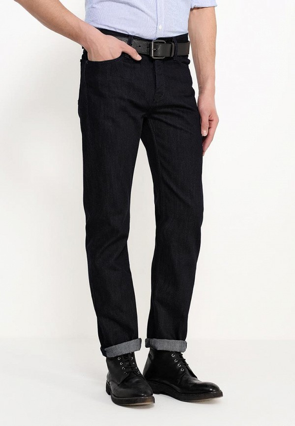 Мужские прямые джинсы Burton Menswear London 12T02HBLU: изображение 3
