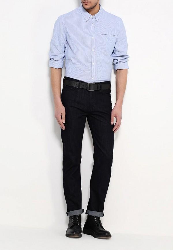 Рубашка с длинным рукавом Burton Menswear London 22L01IBLU: изображение 3