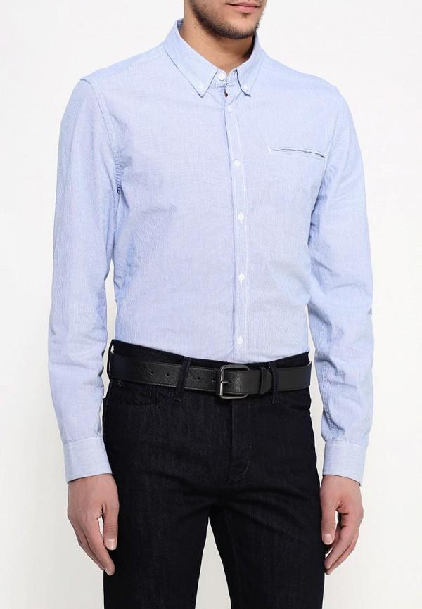 Рубашка с длинным рукавом Burton Menswear London 22L01IBLU: изображение 4