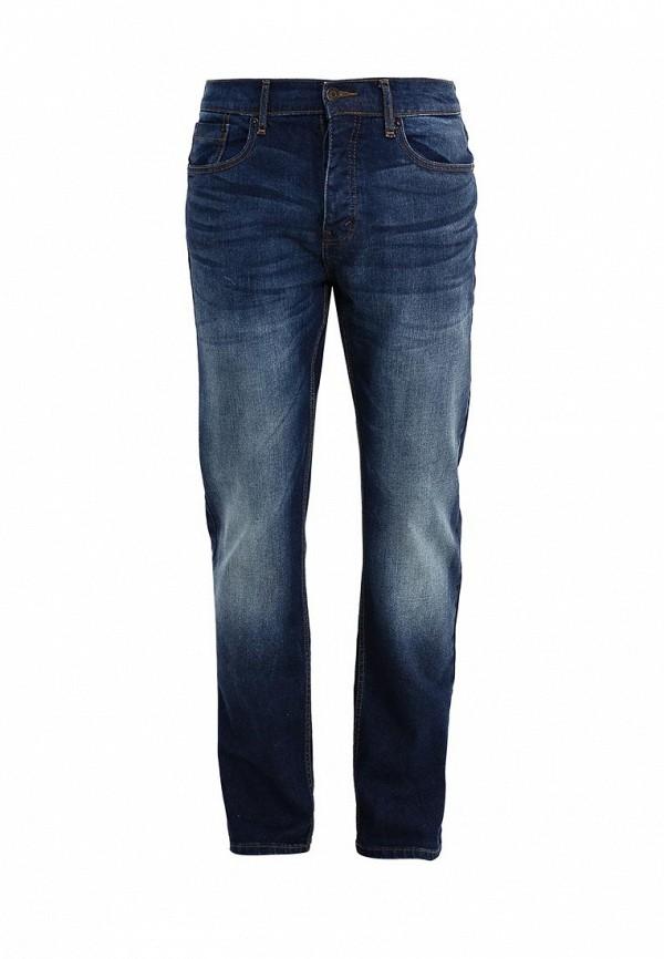 Мужские прямые джинсы Burton Menswear London 12T07IBLU