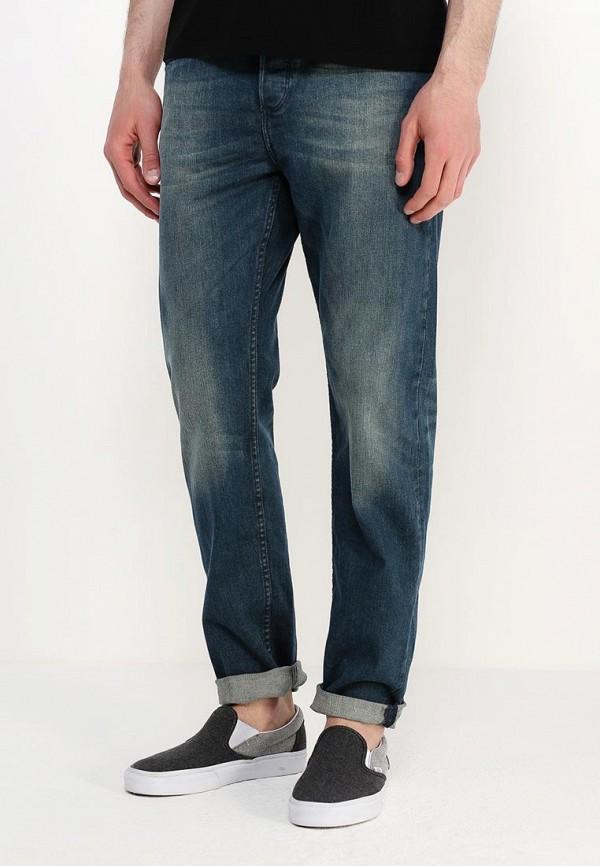 Мужские прямые джинсы Burton Menswear London 12T10IBLU: изображение 3