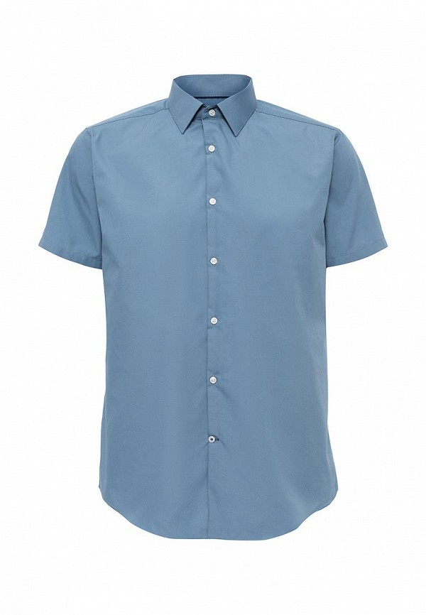Рубашка с коротким рукавом Burton Menswear London 19B16IBLU