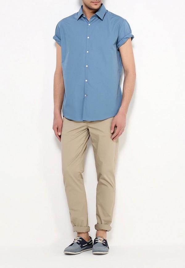 Рубашка с коротким рукавом Burton Menswear London 19B16IBLU: изображение 2