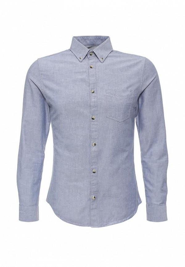 Рубашка с длинным рукавом Burton Menswear London 22O01HBLU: изображение 1