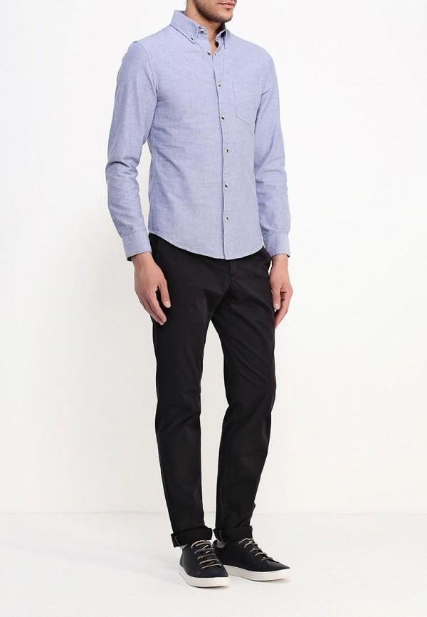 Рубашка с длинным рукавом Burton Menswear London 22O01HBLU: изображение 2