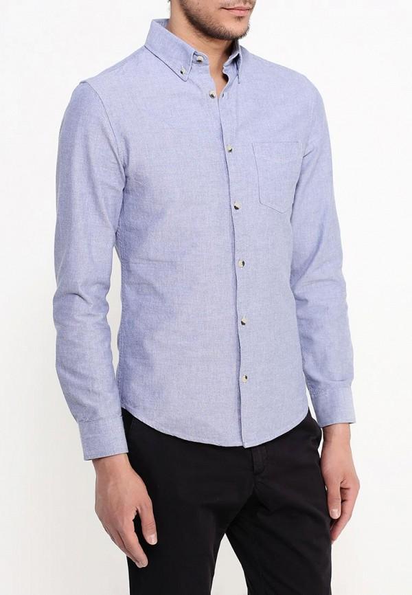 Рубашка с длинным рукавом Burton Menswear London 22O01HBLU: изображение 3