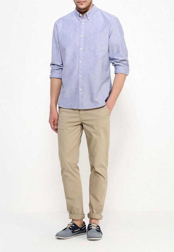 Рубашка с длинным рукавом Burton Menswear London 22O02IBLU: изображение 2
