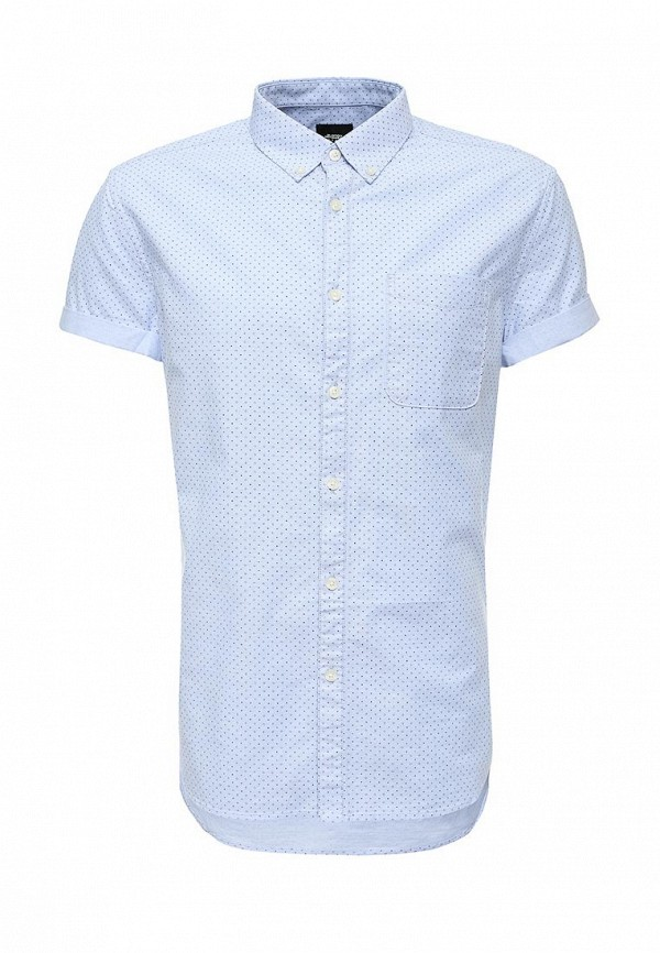 Рубашка с коротким рукавом Burton Menswear London 22P01IBLU: изображение 1