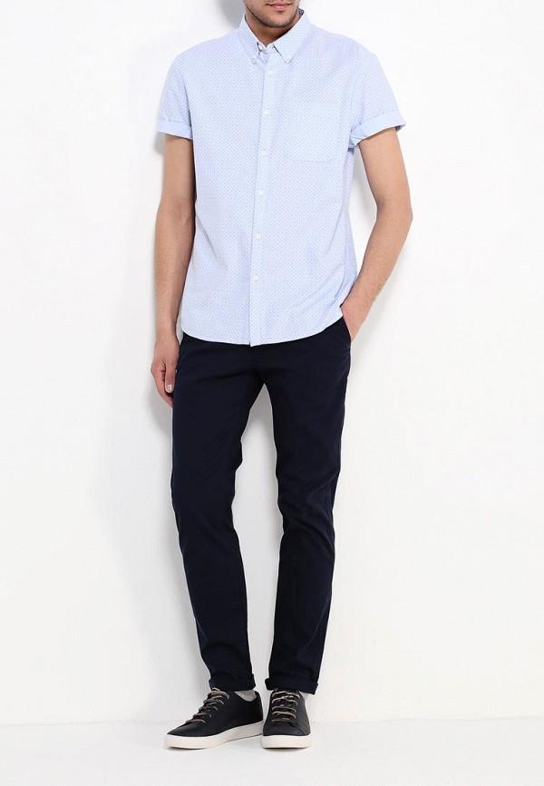 Рубашка с коротким рукавом Burton Menswear London 22P01IBLU: изображение 2