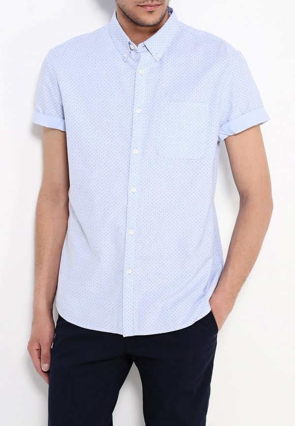 Рубашка с коротким рукавом Burton Menswear London 22P01IBLU: изображение 3