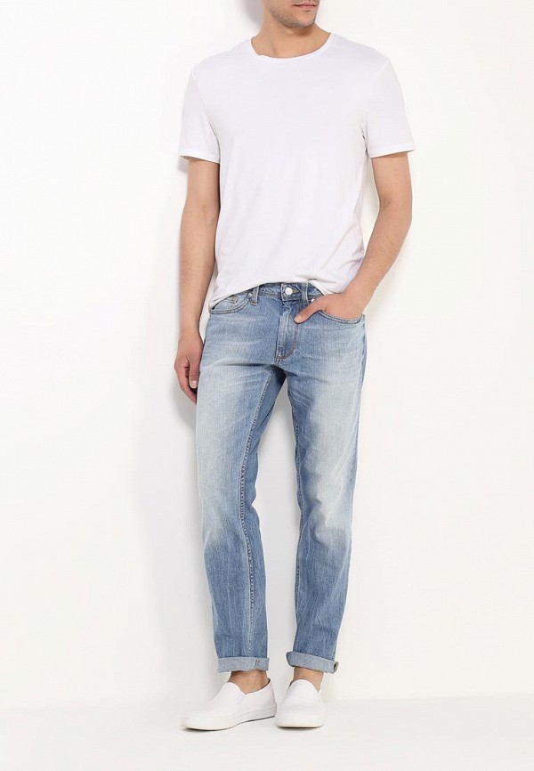 Зауженные джинсы Burton Menswear London 12A11IBLU: изображение 2