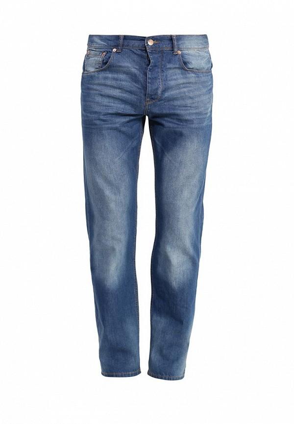 Мужские прямые джинсы Burton Menswear London 12T09IBLU
