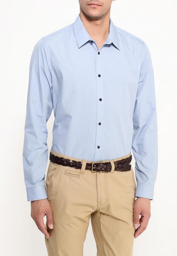 Рубашка с длинным рукавом Burton Menswear London 22D05IBLU: изображение 3