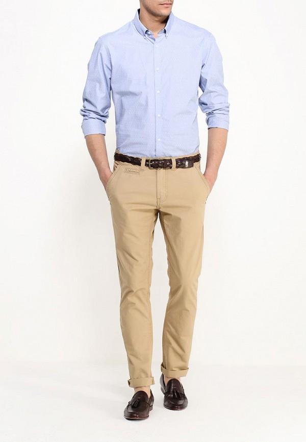 Рубашка с длинным рукавом Burton Menswear London 22S01IBLU: изображение 2
