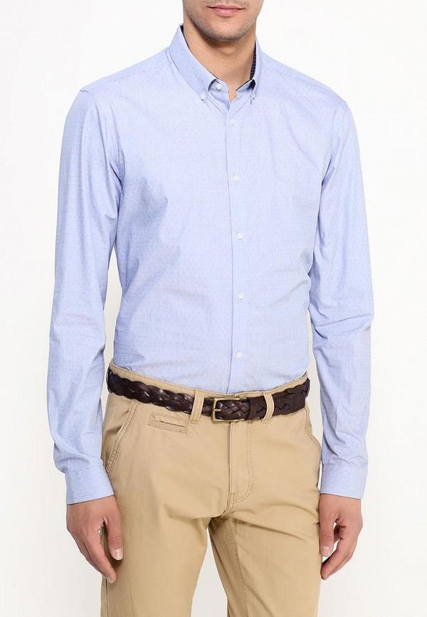 Рубашка с длинным рукавом Burton Menswear London 22S01IBLU: изображение 3