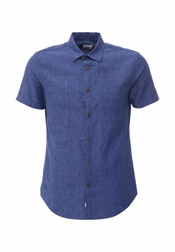 Рубашка с коротким рукавом Burton Menswear London 22P05IBLU