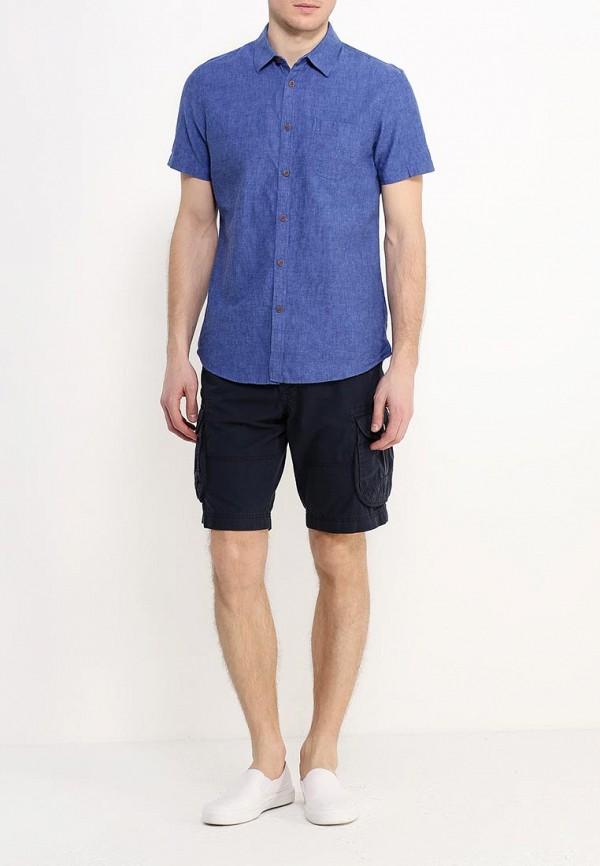 Рубашка с коротким рукавом Burton Menswear London 22P05IBLU: изображение 3