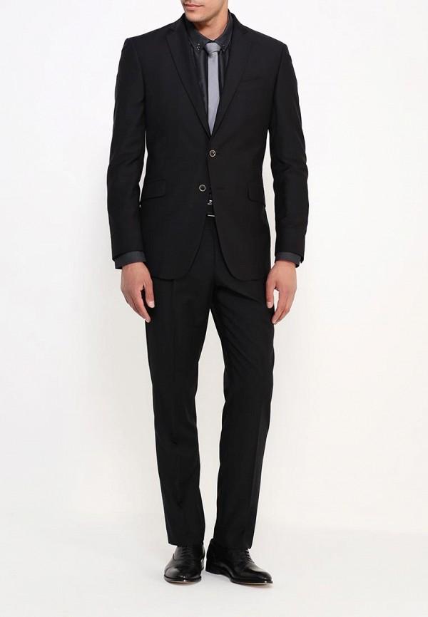 Мужские классические брюки Burton Menswear London 02S02HBLK: изображение 2