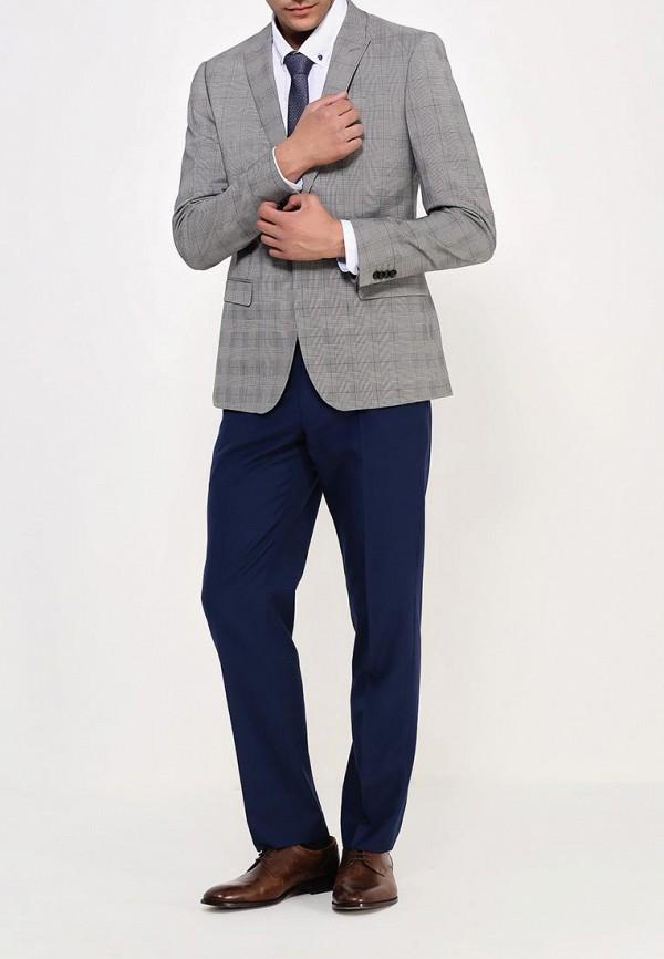 Мужские классические брюки Burton Menswear London 02S06HBLU: изображение 3