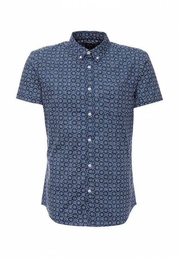 Рубашка с коротким рукавом Burton Menswear London 22P07IBLU