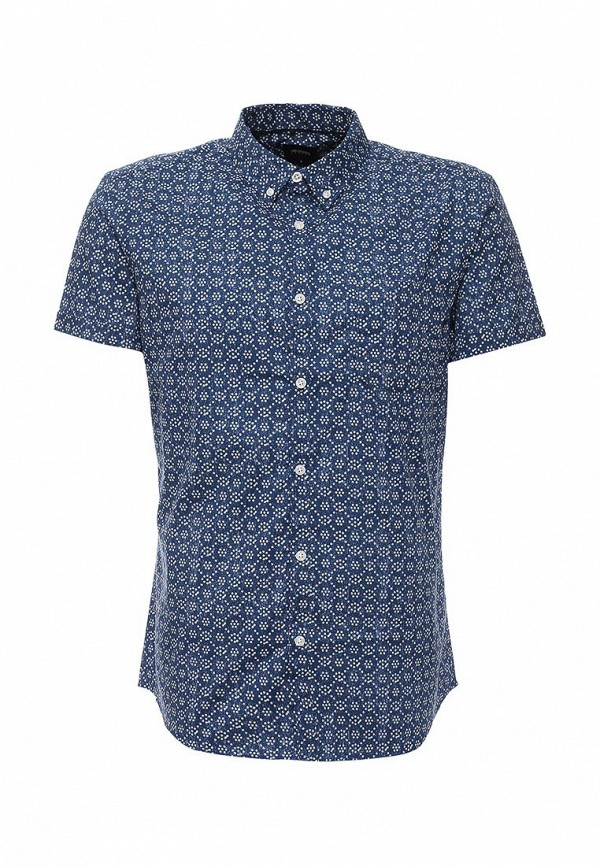 Рубашка с коротким рукавом Burton Menswear London 22P07IBLU: изображение 1