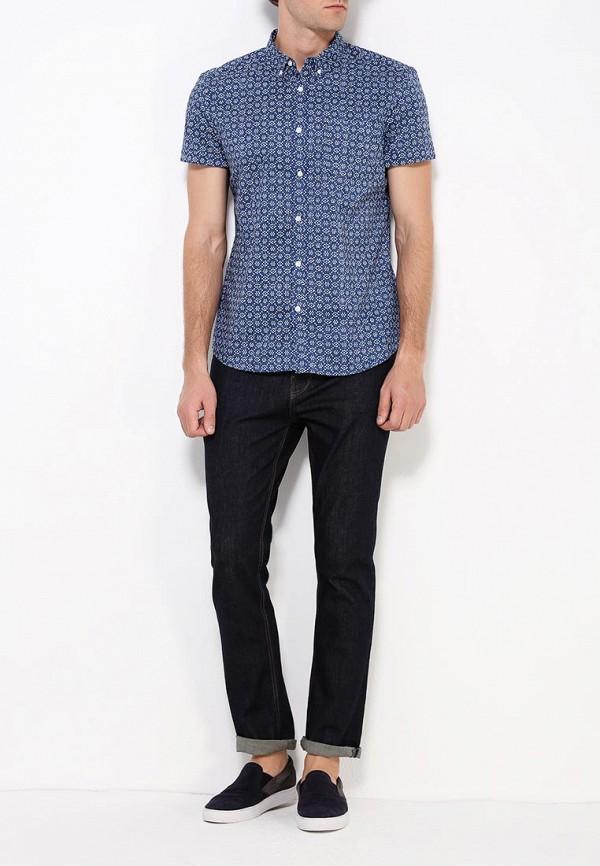Рубашка с коротким рукавом Burton Menswear London 22P07IBLU: изображение 2
