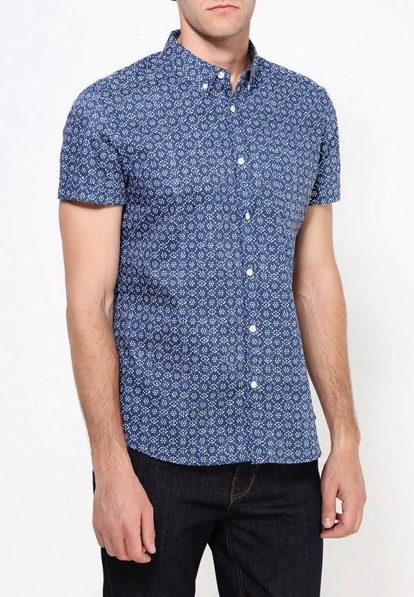 Рубашка с коротким рукавом Burton Menswear London 22P07IBLU: изображение 3