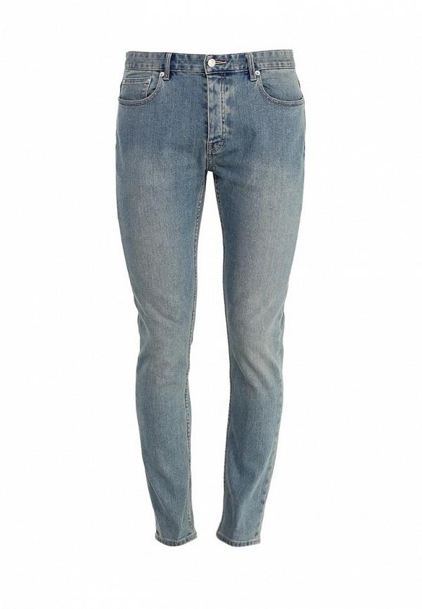Мужские прямые джинсы Topman 69E42MLST