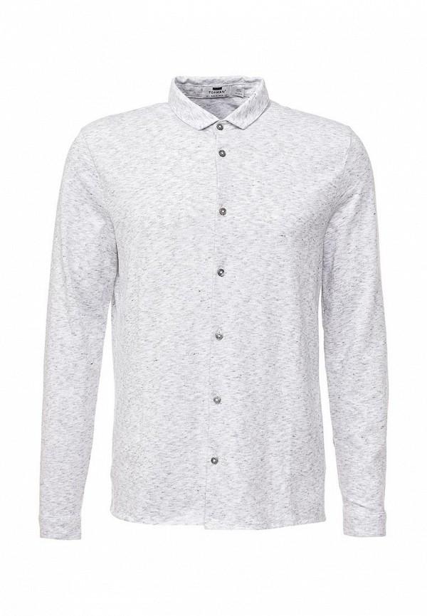 Рубашка с длинным рукавом Topman (Топмэн) 71A47MGRY