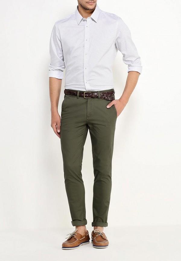 Мужские повседневные брюки Burton Menswear London 23C05HGRN: изображение 3