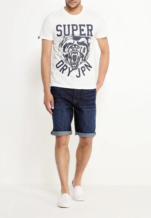 Мужские повседневные шорты Burton Menswear London 88D14IBLU: изображение 2