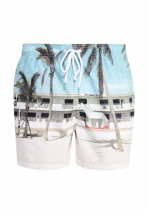 Мужские шорты для плавания Burton Menswear London 88W07IBLU