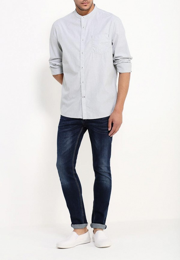 Рубашка с длинным рукавом Burton Menswear London 22L02JGRN: изображение 4