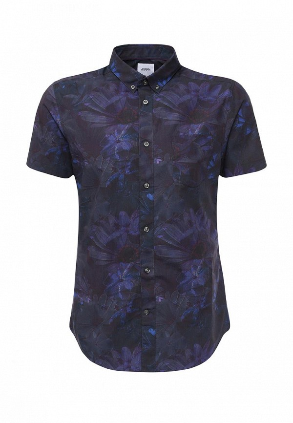 Рубашка с коротким рукавом Burton Menswear London 22P06JBLK