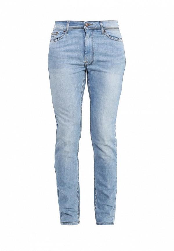 Зауженные джинсы Burton Menswear London 12S30IBLU