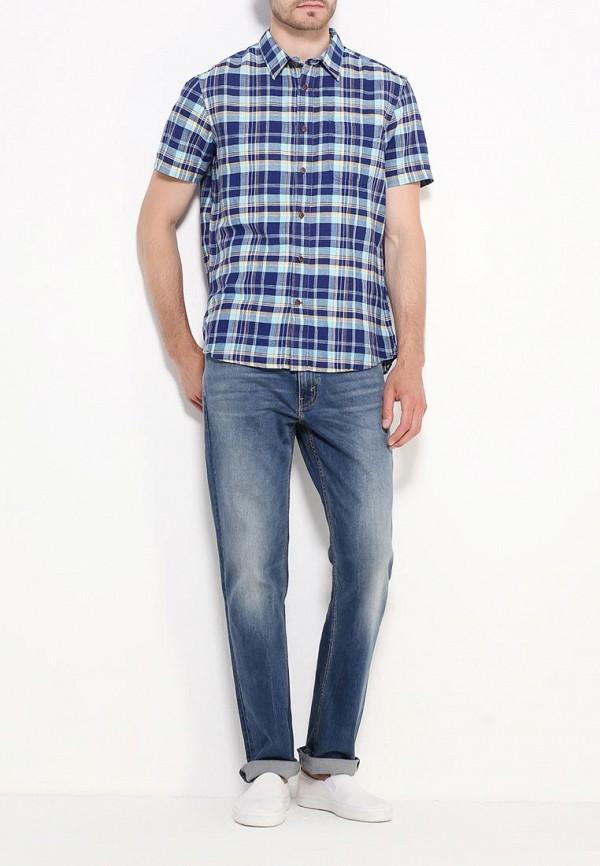 Рубашка с коротким рукавом Burton Menswear London 22C03IBLU: изображение 3