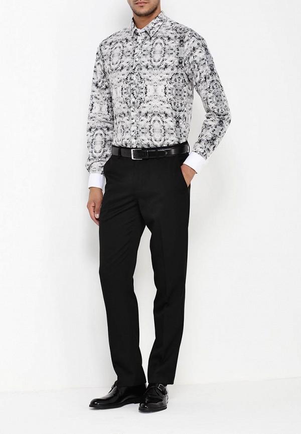 Мужские классические брюки Burton Menswear London 05T04IBLK: изображение 3