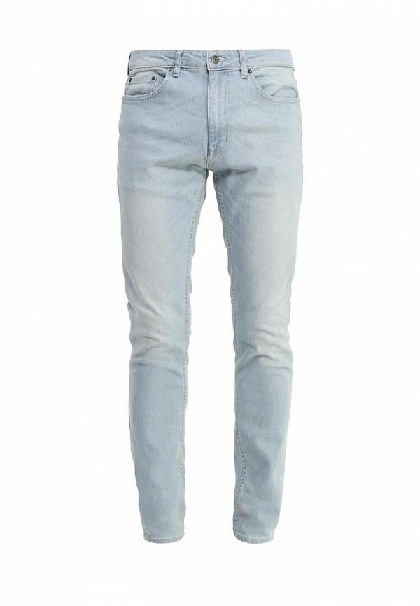 Зауженные джинсы Burton Menswear London 12S33IBLU