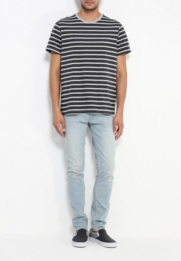 Зауженные джинсы Burton Menswear London 12S33IBLU: изображение 2